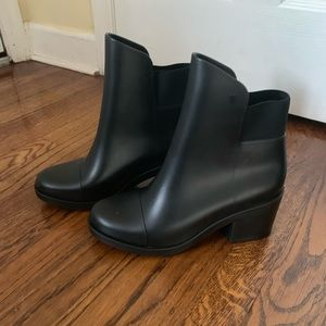 Melissa rubber boots NWOT